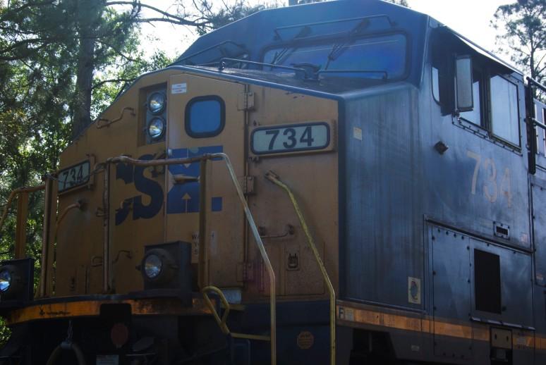 4-9-15 Engine 734